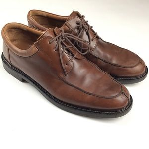Johnston & Murphy 11.5 M Brown Oxfords Derby Shoes